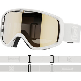 Salomon Aksium Access Lunettes De Protection, white/gold
